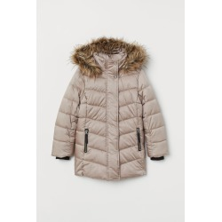 H & M - Padded Jacket - Brown