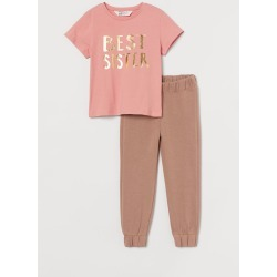 H & M - 2-piece Sibling Set - Pink found on Bargain Bro from H&M (US) for USD $11.39