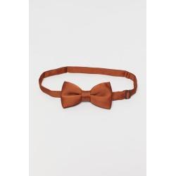 H & M - Satin Bow Tie - Beige