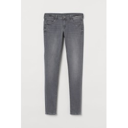 H & M - Push Up Low Jeggings - Gray