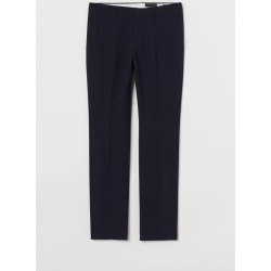 H & M - Slim Fit Suit Pants - Blue found on Bargain Bro India from H&M (US) for $10.99