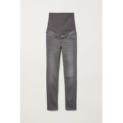H & M - MAMA Skinny Jeans - Gray found on Bargain Bro India from H&M (US) for $18.99