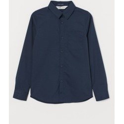 H & M - Easy-iron Shirt - Blue found on Bargain Bro India from H&M (US) for $9.99