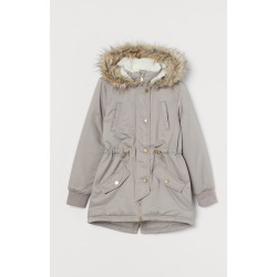 H & M - Padded Parka - Brown found on Bargain Bro Philippines from H&M (US) for $59.99