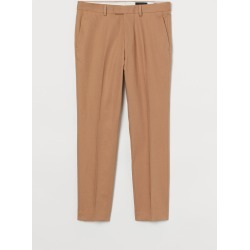 H & M - Slim Fit Suit Pants - Beige found on Bargain Bro Philippines from H&M (US) for $49.99