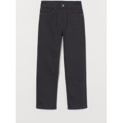 H & M - Straight Fit Twill Pants - Gray found on Bargain Bro Philippines from H&M (US) for $14.99