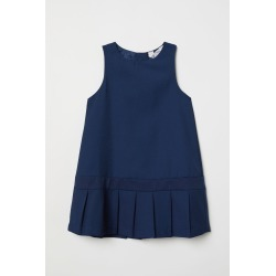H & M - Pleated Dress - Blue found on Bargain Bro India from H&M (US) for $17.99