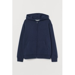 H & M - Hooded Jacket - Blue
