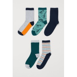 H & M - 5-pack Socks - Orange