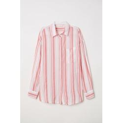 H & M - Viscose-blend Shirt - Pink