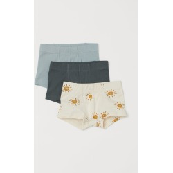 H & M - 3-pack Boxer Shorts - Turquoise found on Bargain Bro from H&M (US) for USD $13.67