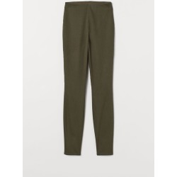 H & M - Slim-fit Pants - Green found on Bargain Bro India from H&M (US) for $6.99