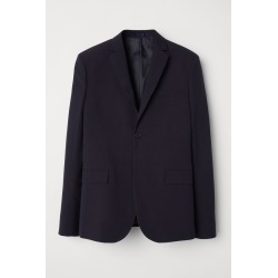 H & M - Blazer Slim fit - Blue found on Bargain Bro India from H&M (US) for $34.99