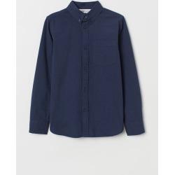 H & M - Seersucker Shirt - Blue