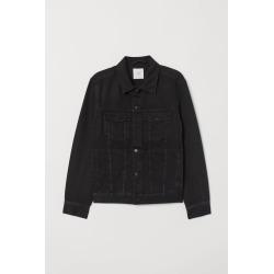 H & M - Denim Jacket - Black