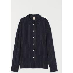 H & M - Wool-blend Shirt - Blue