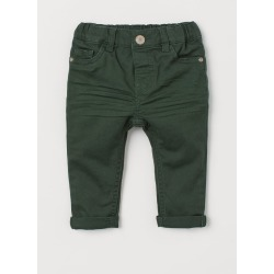H & M - Stretch Twill Pants - Green found on Bargain Bro Philippines from H&M (US) for $9.99