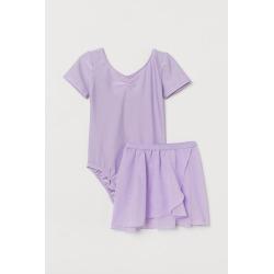 H & M - Two-piece Dance Costume - Purple