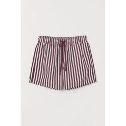 H & M - Printed Swim Shorts - Red