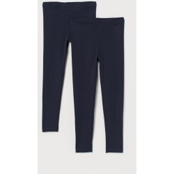 H & M - 2-pack Leggings - Blue found on Bargain Bro Philippines from H&M (US) for $12.99