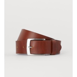 H & M - Leather Belt - Orange found on Bargain Bro India from H&M (US) for $17.99