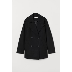 H & M - Wool-blend Jacket - Black