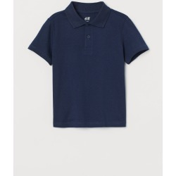 H & M - Polo Shirt - Blue found on Bargain Bro India from H&M (US) for $6.99