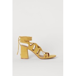 H & M - Sandals - Yellow