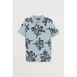 H & M - Slim Fit Polo Shirt - Turquoise found on Bargain Bro from H&M (US) for USD $11.39
