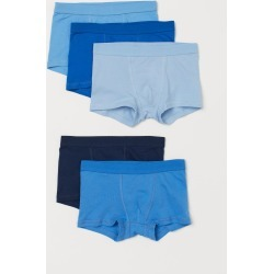 H & M - 5-pack Boxer Shorts - Blue found on Bargain Bro Philippines from H&M (US) for $17.99