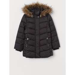 H & M - Padded Jacket - Black