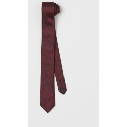 H & M - Paisley-patterned Tie - Red