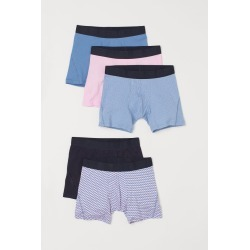 H & M - 5-pack Boxer Shorts - Pink found on Bargain Bro from H&M (US) for USD $22.79