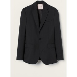 H & M - Regular Fit Wool Blazer - Black found on Bargain Bro from H&M (US) for USD $151.24