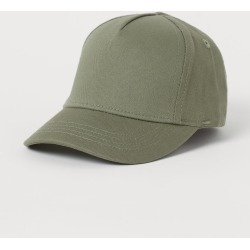 H & M - Cotton Cap - Green found on Bargain Bro from H&M (US) for USD $4.55