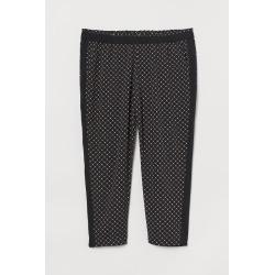 H & M - H & M+ Pull-on Pants - Black