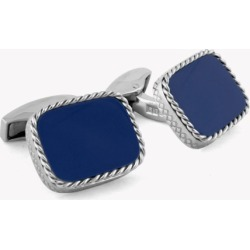 Tateossian Cable Cushion Silver Cufflinks In Lapis found on Bargain Bro UK from Harvey Nichols