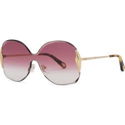 Chloé Curtis Gold-tone Oversized Sunglasses found on Bargain Bro UK from Harvey Nichols