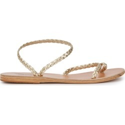 Ancient Greek Sandals Eleftheria Plaited Leather Sandals found on MODAPINS from Harvey Nichols for USD $181.51