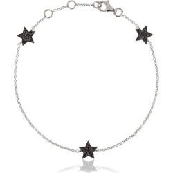 Alinka Jewellery Stasia Mini Triple Star Bracelet Black Diamonds found on MODAPINS from Harvey Nichols for USD $2281.52