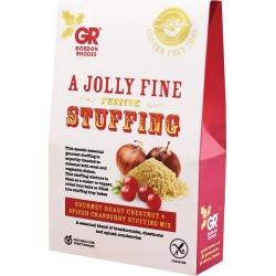 GORDON RHODES Gluten-Free Roast Chestnut & Spiced Cranberry Stuffing Mix 125g found on Bargain Bro UK from Harvey Nichols