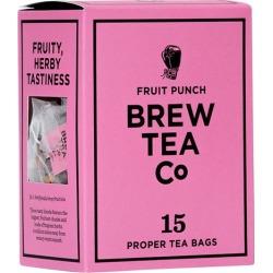 Brew Tea Co Fruit Punch Tea Bags X 15