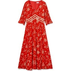Jigsaw Scribble Tea Dress found on MODAPINS from Harvey Nichols for USD $206.66