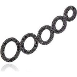 Alinka Jewellery Cloud Left Ear Cuff Black Diamonds found on MODAPINS from Harvey Nichols for USD $1530.12