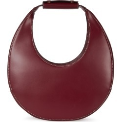 STAUD Moon Burgundy Leather Top Handle Bag found on Bargain Bro UK from Harvey Nichols