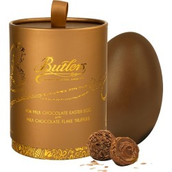 Butlers Chocolates Milk Chocolate Easter Egg With Chocolate Flake Truffles 225g
