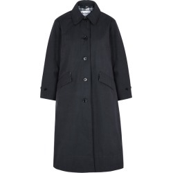 Barbour By ALEXACHUNG Julie Navy Gabardine Trench Coat found on Bargain Bro UK from Harvey Nichols