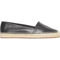 Burberry Monogram Motif Leather Espadrilles found on MODAPINS from Harvey Nichols for USD $486.42