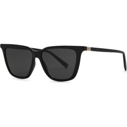 Givenchy Black Wayfarer-style Sunglasses found on MODAPINS from Harvey Nichols for USD $226.16