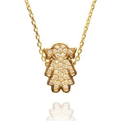 Alinka Jewellery Masha Necklace Yellow Gold found on MODAPINS from Harvey Nichols for USD $2378.19